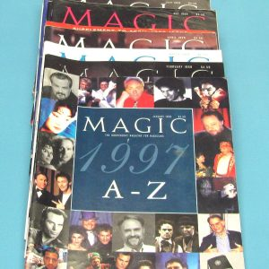 Magic Magazine Year Set 1998 (Pre-Ownwed)