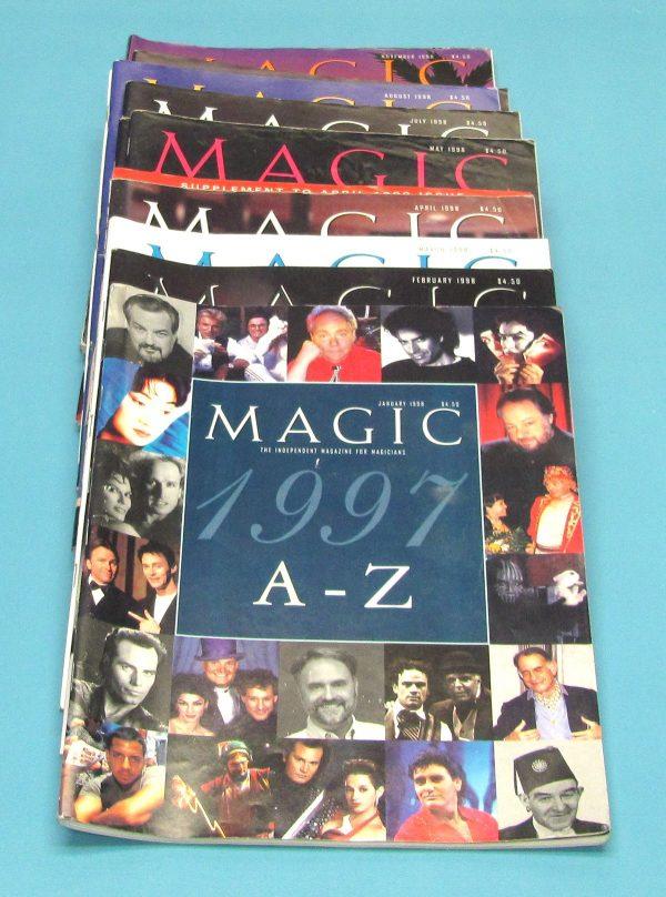 Magic Magazine Year Set 1998 (Pre-Ownwed)