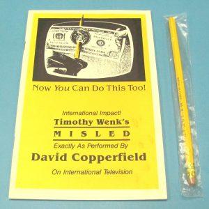 Misled With Unused Pencil