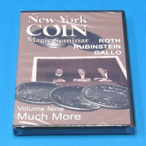 New York Coin Magic Seminar Volume 9 DVD