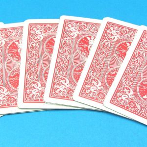 Six Card Repeat (Red Back Bicycle) Pre-Owned