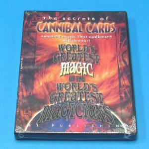 The Secrets of Cannibal Cards DVD
