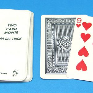 Vintage Royal Magic Two Card Monte With White Holder