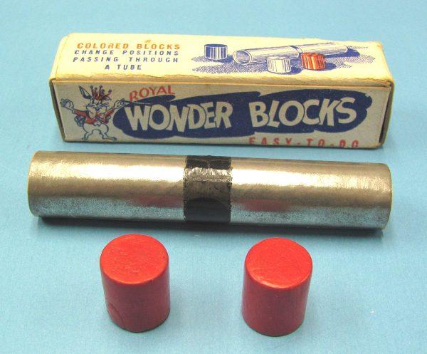 Vintage Wonder Blocks Mis-Matched Set (Incomplete)