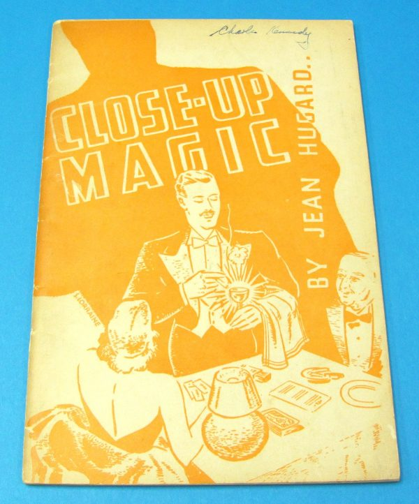 Close-Up Magic (Jean Hugard) With Name on Cover