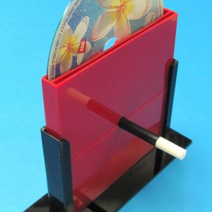 Compact Disc Through Magic Wand