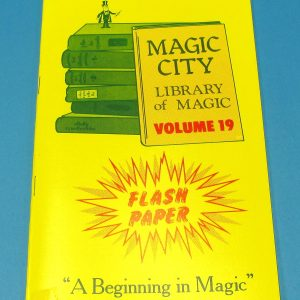 Flash Paper Magic City Library of Magic Volume 19