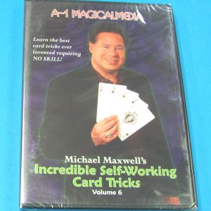 Incredible Self-Working Card Tricks DVD Volume 6 (Michael Maxwell)