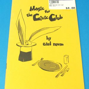 Magic For The Civic Club #2