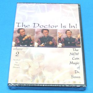 The Doctor Is In - The New Coin Magic of Dr. Sawa DVD Vol 2