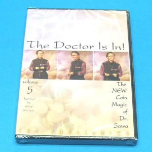 The Doctor Is In - The New Coin Magic of Dr. Sawa DVD Vol 5