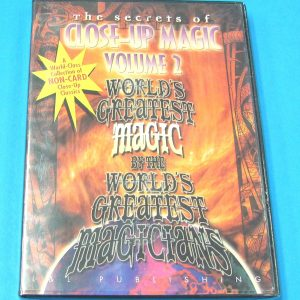 The Secrets of Close-Up Magic DVD Volume 2