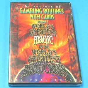 The Secrets of Gambling Routines With Cards DVD Volume 2