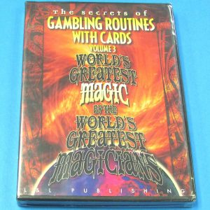 The Secrets of Gambling Routines With Cards DVD Volume 3