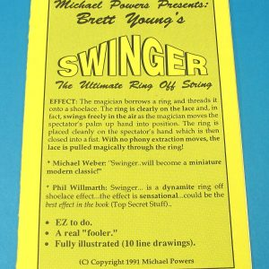 Brett Young's Swinger - The Ultimate Ring Off String