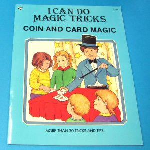 I Can Do Magic Tricks Coin and Card Magic