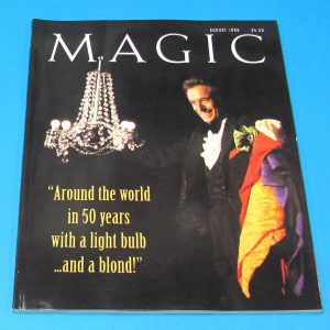 Stan Allen's Magic Magazine April 1999 Marvyn Roy