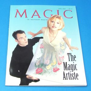 Stan Allen's Magic Magazine April 2000 The Magic Artiste