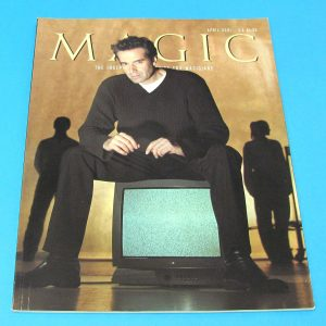 Stan Allen's Magic Magazine April 2001 David Copperfield