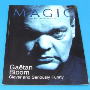 Stan Allen's Magic Magazine April 2003 Gaetan Bloom