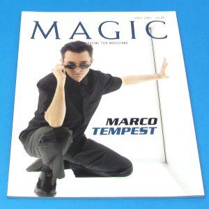 Stan Allen's Magic Magazine April 2004 Marco Tempest