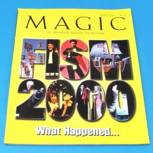 Stan Allen's Magic Magazine Aug 2000 FISM 2000