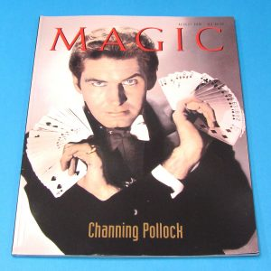 Stan Allen's Magic Magazine Aug 2001 Channing Pollock