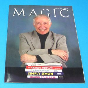 Stan Allen's Magic Magazine Aug 2003 Simon Aronson