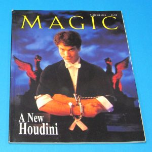 Stan Allen's Magic Magazine Dec 1998 A New Houdini