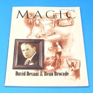 Stan Allen's Magic Magazine Dec 2002 David Devant and Beau Brocade