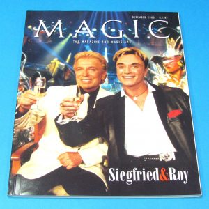 Stan Allen's Magic Magazine Dec 2003 Siegfried and Roy