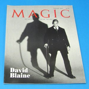 Stan Allen's Magic Magazine Feb 1999 David Blaine