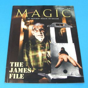 Stan Allen's Magic Magazine Feb 2000 Stewart James