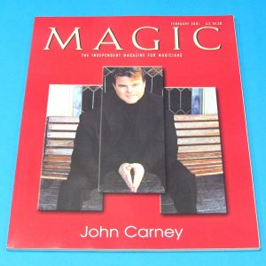Stan Allen's Magic Magazine Feb 2001 John Carney