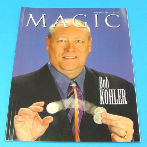 Stan Allen's Magic Magazine Feb 2003 Bob Kohler