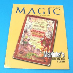 Stan Allen's Magic Magazine Jan 2001 Martinka's