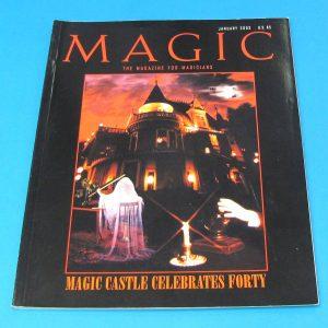 Stan Allen's Magic Magazine Jan 2003 Magic Castle