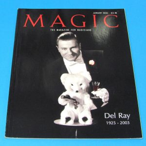 Stan Allen's Magic Magazine Jan 2004 Del Ray