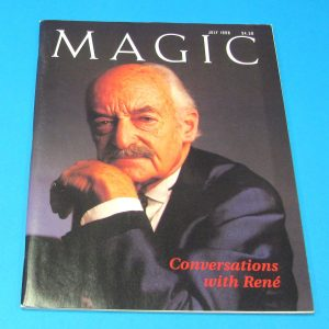 Stan Allen's Magic Magazine July 1998 Rene Levand