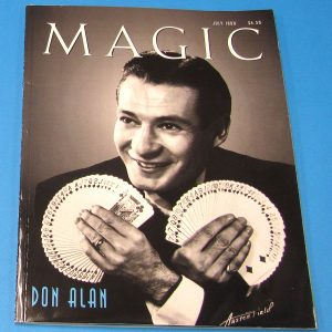 Stan Allen's Magic Magazine July 1999 Don Alan