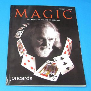 Stan Allen's Magic Magazine July 2000 Jon Racherbaumer