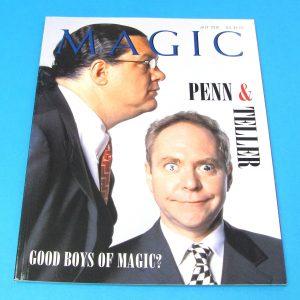 Stan Allen's Magic Magazine July 2001 Penn and Teller