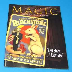 Stan Allen's Magic Magazine June 1998 Blackstone Sr