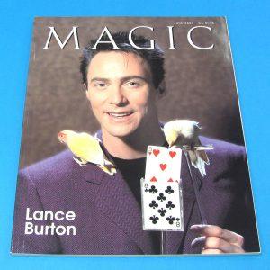 Stan Allen's Magic Magazine June 2001 Lance Burton