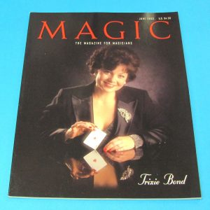 Stan Allen's Magic Magazine June 2002 Trixie Bond