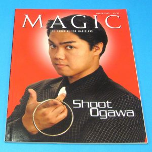Stan Allen's Magic Magazine Mar 2003 Shoot Ogawa