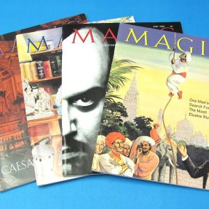Stan Allen's Magic Magazine May-Aug 1996 Lot of 4