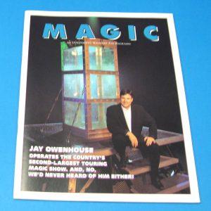 Stan Allen's Magic Magazine Nov 1993 Jay Owenhouse