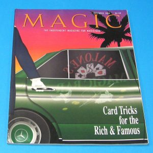 Stan Allen's Magic Magazine Nov 1998 Card Tricks For The Rich and Famous