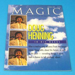 Stan Allen's Magic Magazine Oct 1999 Doug Henning